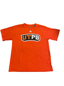 Adidas NCAA Uni. of Texas Permian Basin T-shirt Orange/Black dx4737