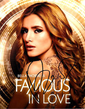 BELLA THORNE AUTOGRAPHED SIGNED FAMOUS IN LOVE 8X10 PHOTO W/COA