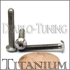 TITANIUM M3 x 20mm - DIN 9427 BUTTON HEAD Socket Cap Screw - BHCS - Ti Hex Allen