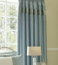 Catherine Lansfield Classique Duckegg Curtains 66x72