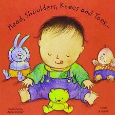 Head, Shoulders, Knees and Toes in Polish and English (Board Books) (English and