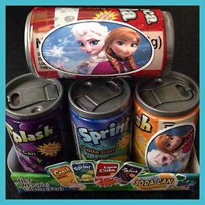 12 DISNEY FROZEN PARTY FAVORS SODA POP CANDY