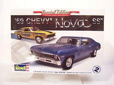 NEW Revell 1/25 1969 '69 Chevy Chevrolet Nova SS Plastic Model Kit Drag Race