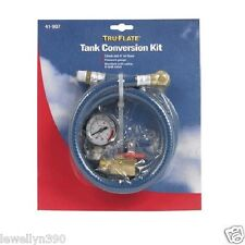 Air Tank Conversion Kit Gauge Hose Tru-Flate 41907
