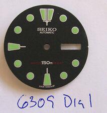 - DIAL Round Marker made for SEIKO DIVER Auto 6309 New