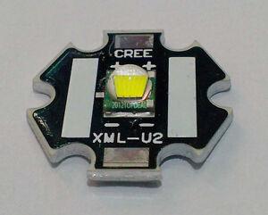Hot Cree XLamp XML U2 10W LED Emitter White Color  + 20mm Star Base PCB