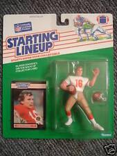 Joe Montana Starting Lineup San Francisco 49ers 1989 Piece in Super Condition