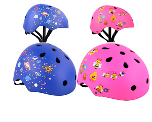 Kids Helmet Safety for Bike, Scooter, Skate Board Sports with Protective Gear