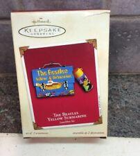 "New Hallmark-The Beatles Yellow Submarine"" Lunch Box Set Christmas Ornament 2002"
