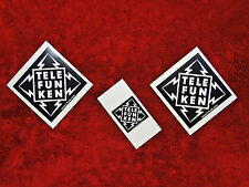 Telefunken Microphones 3 Sticker Set