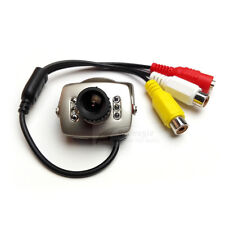 Mini CCTV 600TVL Wired Video Color Infrared CCTV Security Camera MIC 3.6mm Lens