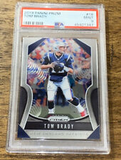 2019 Panini Prizm #18 Tom Brady New England Patriots PSA 9 MINT