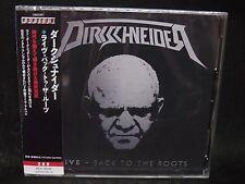 DIRKSCHNEIDER Live - Back To The Roots JAPAN 2CD U.D.O. Accept