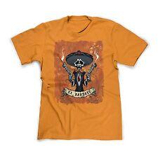 Official David Lozeau Day of the Dead T-shirts El Bandito Mexican