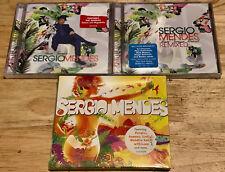 Sergio Mendes 3 cd BOM TEMPO BRASIL Remixed/ENCANTO/BOM TEMPO The Look of Love