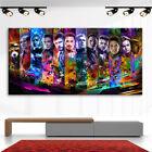 Super Heroes Marvel Abstraktes Bilder Leinwand Wandbilder Kunst XXXL 3714A