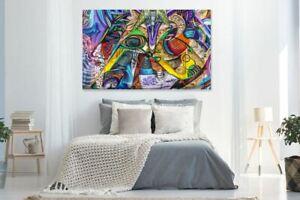 GRAFFITI/URBAN Beautiful & Colorful  high quality Canvas painting  Home decor