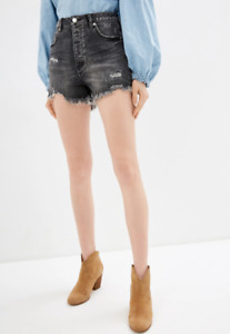 We The Free By Free People Womens Crvy Vintage OB967271 Mini Shorts Black 26W