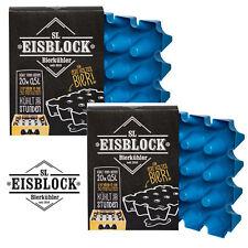 2 x SL Eisblock Bierkühler Flaschenkühler Bierkastenkühler Kühlung 0,5 Liter Neu