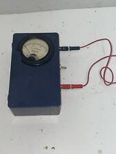 Vintage Triplet Model 321 T Panel Meter 0 80 Volts Gauge Analog Untested