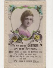 Gladys Cooper Actress Vintage RP Birthday Greetings Postcard 531a