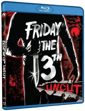 Blu Ray FRIDAY THE 13TH Part 1 uncut USA version 1980. Region free. New sealed