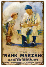 Frank Marzano Base Ball Nostalgic Sign