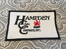 """Hampden Coal Company Inc. Embroidered Patch 4 x 2 1/2"""" Movie Prop # 74"""
