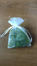50 Green Flower Twin Spring Bath Oil Beads