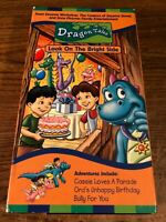 Dragon Tales Look On The Bright Side  VHS VCR Video Tape Movie Used Cartoon