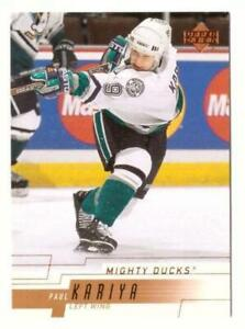 2000-01 Upper Deck NHL Hockey Base Singles (Pick Your Cards)