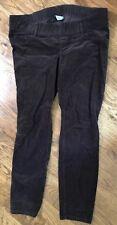Old Navy Maternity Brown Corduroy Pants Slim Pants 14