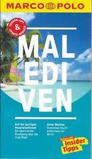 Malediven Male' Mantas Mirihi Atoll Marco Polo Reiseführer & Extra-Faltkarte