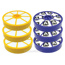Washable Pre & Post Motor HEPA Filter Kit for Dyson DC05 DC08 Vacuum x 3