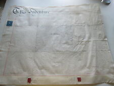 "1843 ""Assignment Of One Third Part Of A Patent"", (1) Parchment Pages, England"