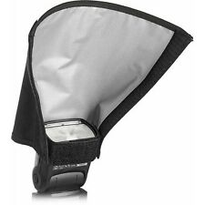 "NEW Honl HonlPHOTO 8"" Gray-Black Flash Reflector/Snoot HONL-SNOOT8 on/off camera"