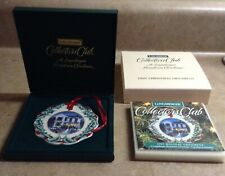 Longaberger 1997 Collector's Club Hometown Christmas Ornament Second Edition~Nib
