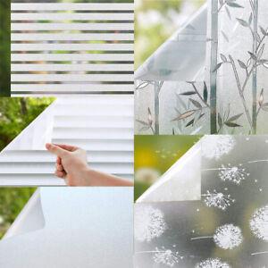 Sichtschutzfolie Milchglasfolie Fensterfolie Fenster Folie Selbstklebend 60,90cm