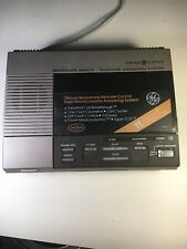 GE Micro Cassette Telephone Answering Machine  Model 2-9880A see description
