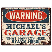 PP2577 COREY/'S MAN CAVE Plate Chic Sign Home Room Garage Decor Birthday Gift