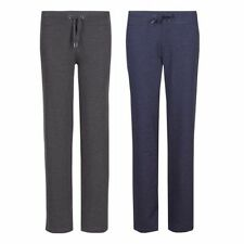 Marks and Spencer Cotton Blend Trousers for Women