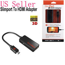 USA Slimport MyDP to HDMI HDTV Adapter Cable For LG G2 Google 4 Nexus 7 II ASUS