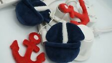 Nautical Anchor & Boats Baby  CRIB Musical Mobile   SEE DETAILS