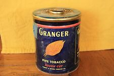 Old tabacco can