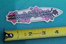 Body Waves Flower Longboard Aloha Surfboards Surf Fusion Surfing Sticker
