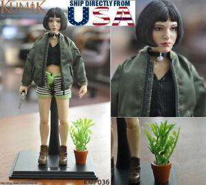 """KUMIK 1//6 Veuve Noire Bottines creux pour PHICEN 12/"""" figure féminine U.S.A."""