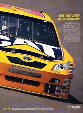 2007 Toyota Camry Race - Original Advertisement Print Art Car Ad J639