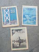 Original 1936 Oakland Tribune Year Book Oakland Ca Three Sections