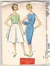McCall's Sewing Pattern 5874, Vintage Top, Skirt, Culottes, Plus Size 18, Uncut