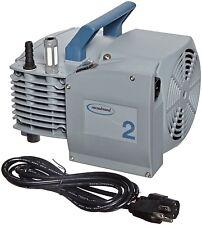 Vacuubrand ME2 NT Aluminum Diaphragm Vacuum Pump Dual Voltage 120v / 230v